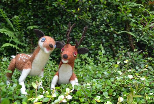 ウェルカムドール(鹿)