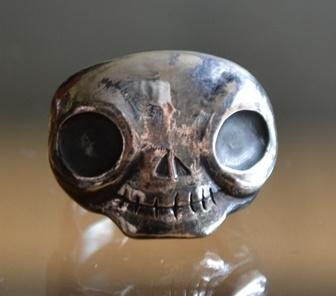 ガイコツ指輪
