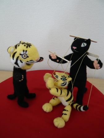 トラ&黒猫