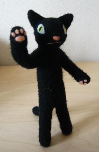 黒猫(旅のお供)