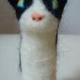 みけ猫指人形