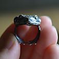 ヒキガエルの指輪(フリーサイズ)