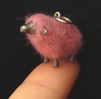 カラフル羊(金具付)