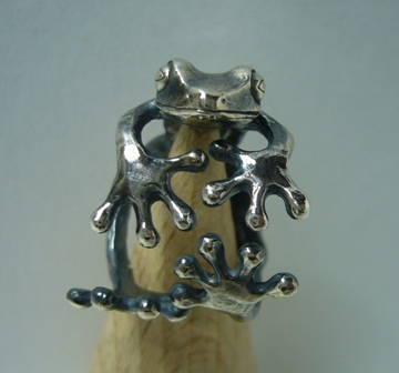 蛙の指輪Ⅱ(フリーサイズ:5号~)